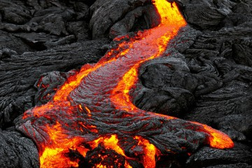 Image of potential fire pit lava rock