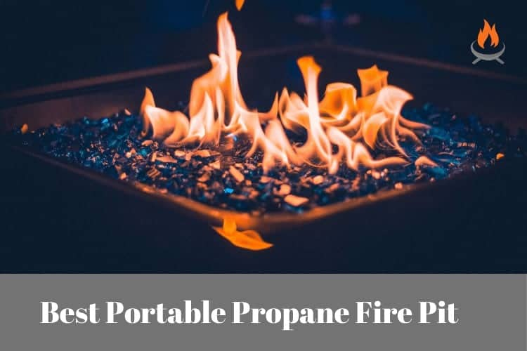 Image for blog post about the best portable propane firebowl