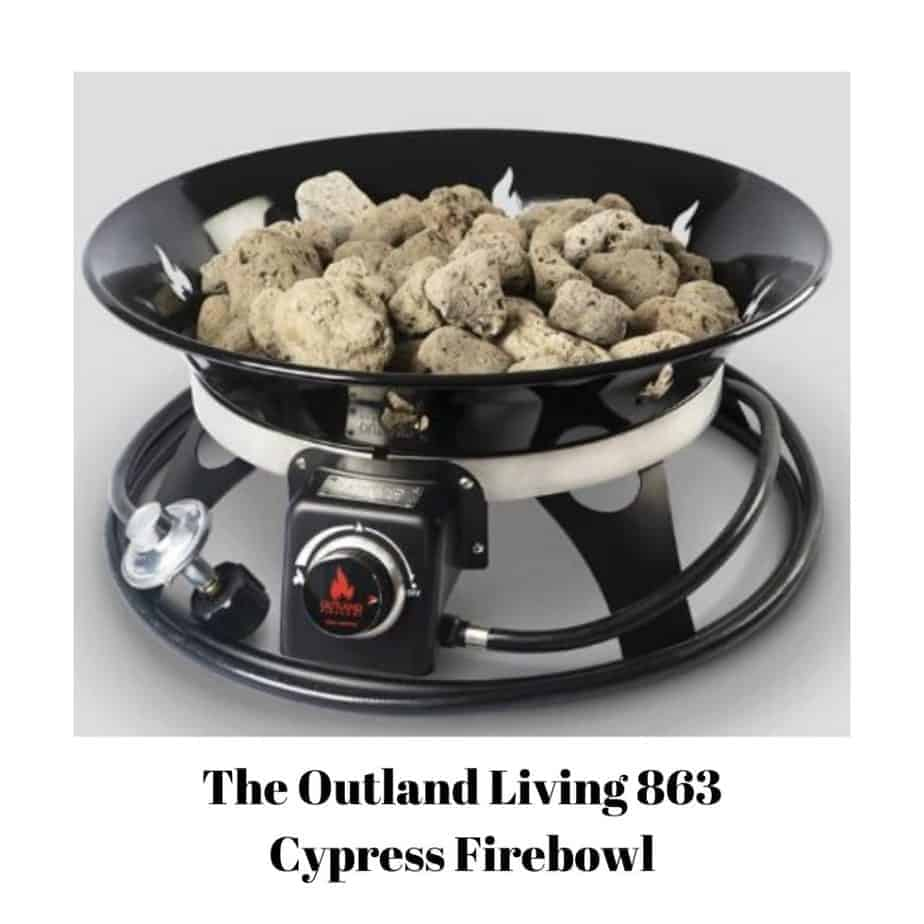 My Pick For The Best Portable Propane Fire Pit on Outland Living Cypress Fire Pit id=69812