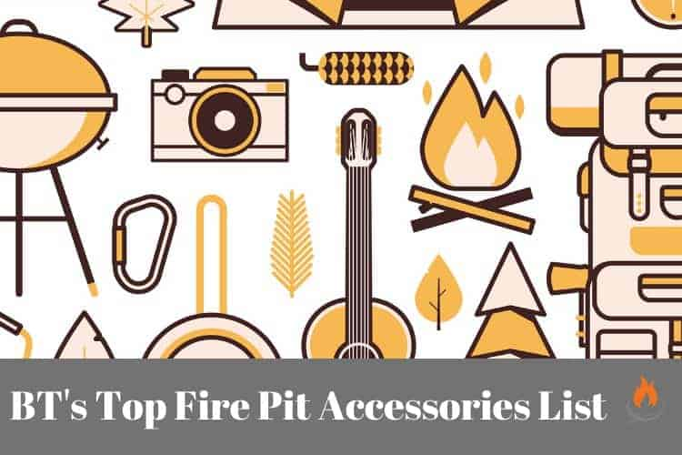Image for blog category page on fire pit accessories