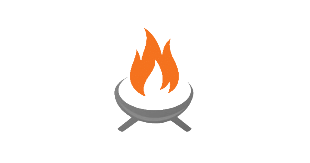Image of site icon for Backyard Toasty fire pit blog
